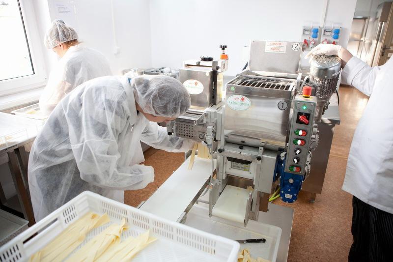 świeże makarony-produkcja