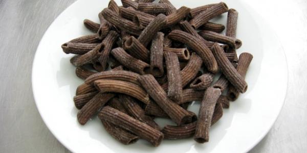 makaron penne czekoladowe